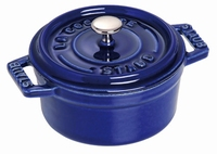Ronde Cocotte 10 cm - donkerblauw