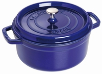 Ronde Cocotte 24 cm - donkerblauw