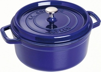 Ronde Cocotte 26 cm - donkerblauw