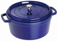 Ronde Cocotte 28 cm - donkerblauw