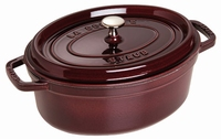 Ovale Cocotte 29 cm - aubergine