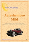 Car Wash en Wax.  Milde autoshampoo 5L