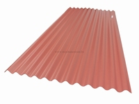 SCALATOP GOLFPLAAT PVC 76/18 0.9X2M ROOD
